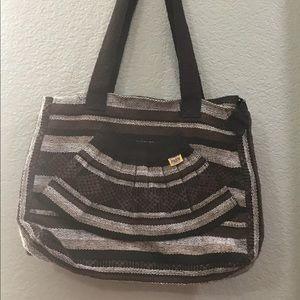 Mexican Artisanias Pinzon Brown Purse Hobo Bag